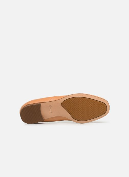 Loafers Clarks Pure Tone Beige view from above