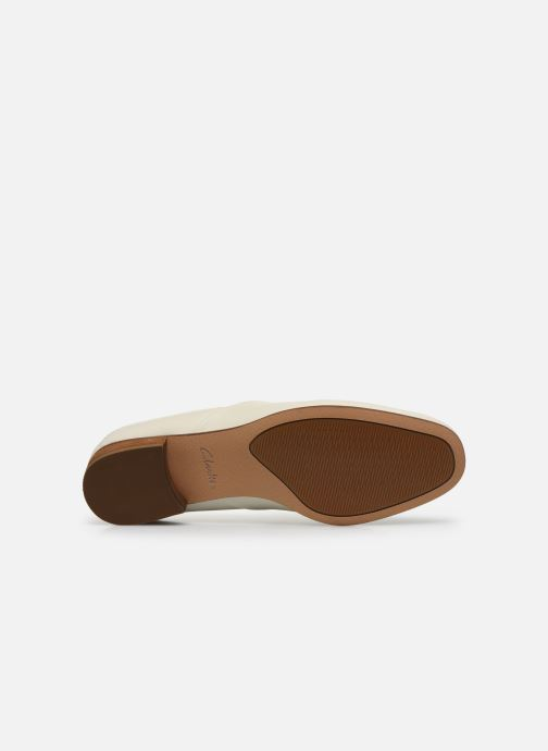 Mocassins Clarks Pure Tone Wit boven