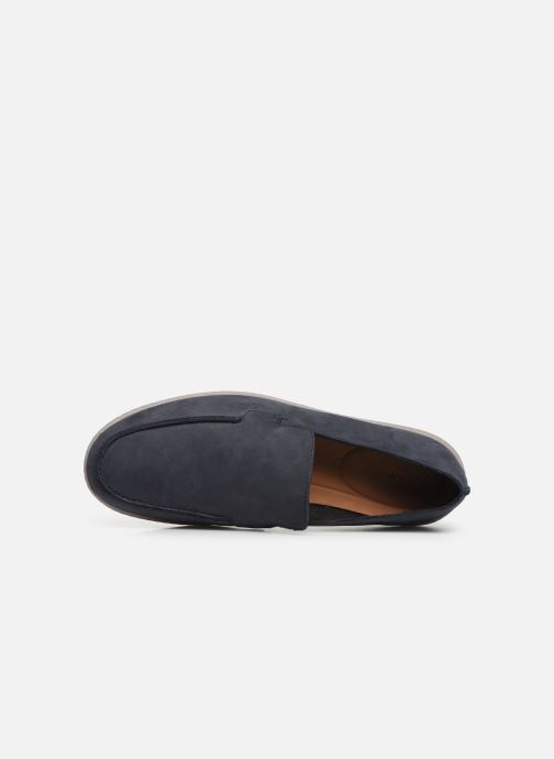 Loafers Clarks Saltash Free Blue view from the left
