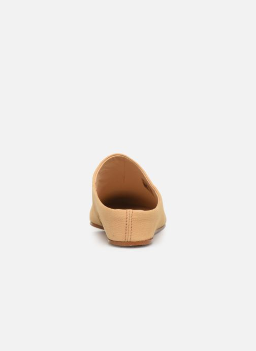 Mules & clogs Clarks Sense Beau Beige view from the right