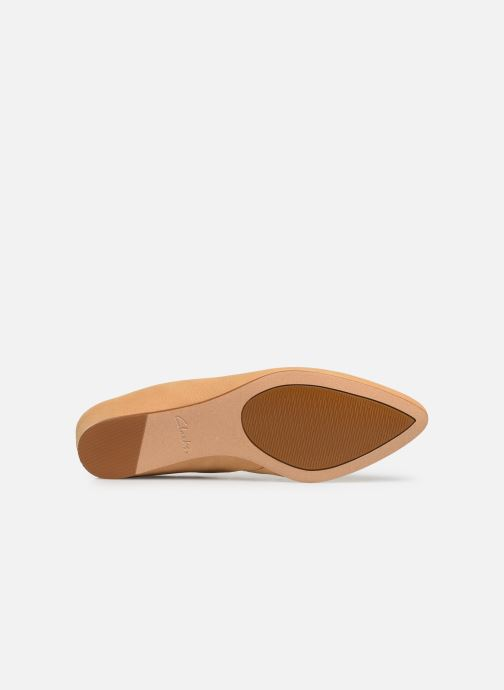 Mules & clogs Clarks Sense Beau Beige view from above