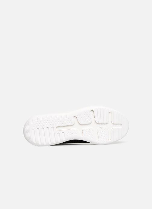 Sneaker Clarks Sift 91 schwarz ansicht von oben