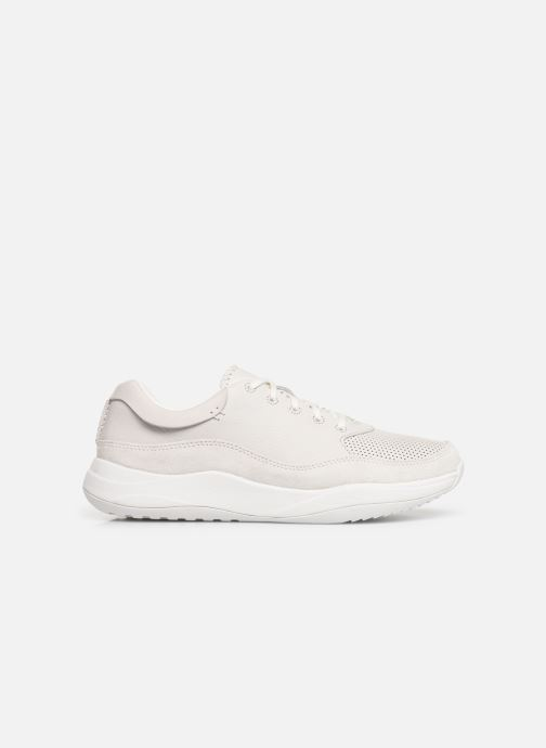 Trainers Clarks Sift 91 White back view