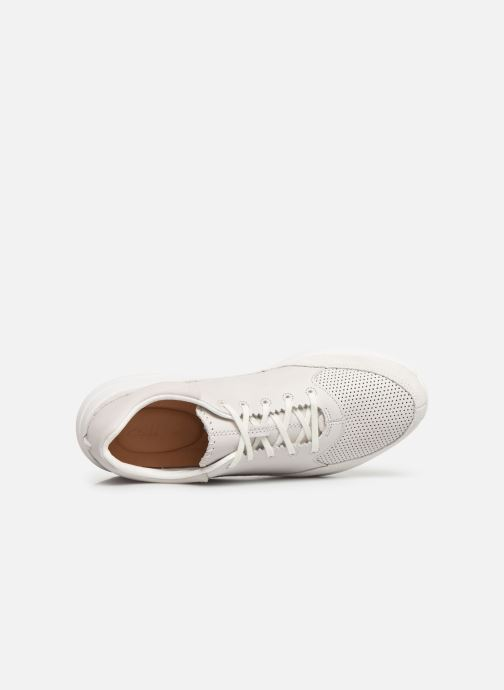 Trainers Clarks Sift 91 White view from the left