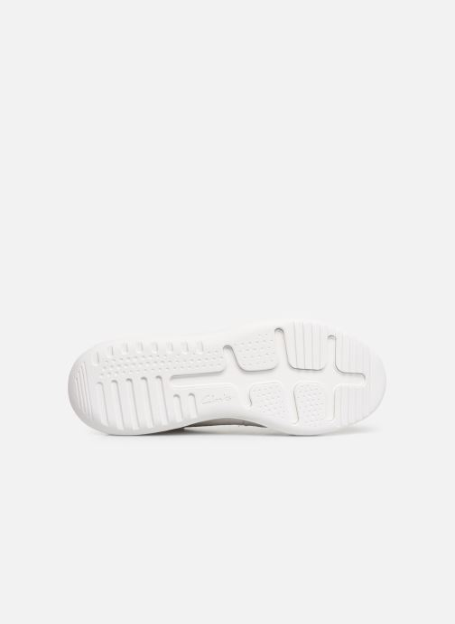 Trainers Clarks Sift 91 White view from above