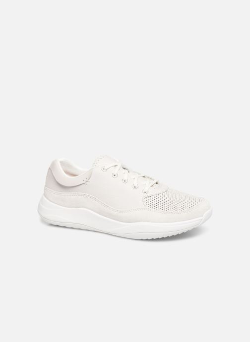 Trainers Clarks Sift 91 White detailed view/ Pair view