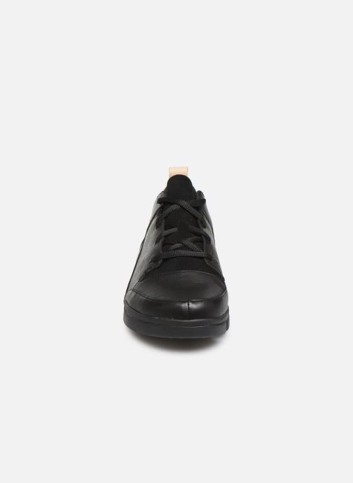 Trainers Clarks Tri Turn Black model view
