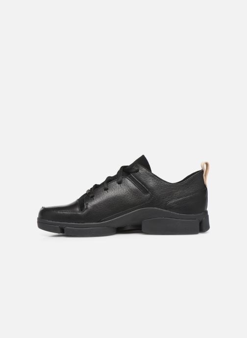 Trainers Clarks Tri Turn Black front view