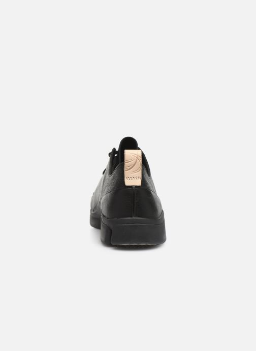 Trainers Clarks Tri Turn Black view from the right