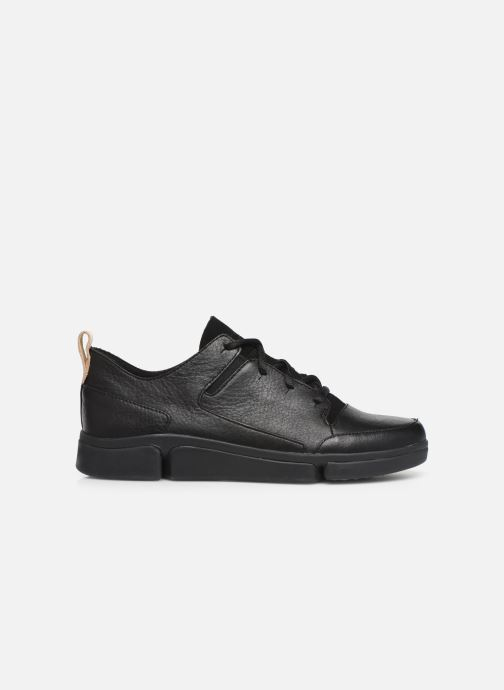 Trainers Clarks Tri Turn Black back view