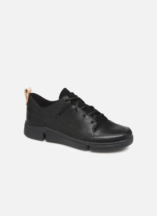 Trainers Clarks Tri Turn Black detailed view/ Pair view