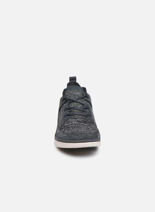 Baskets Clarks Tri Verve Gris vue portées chaussures