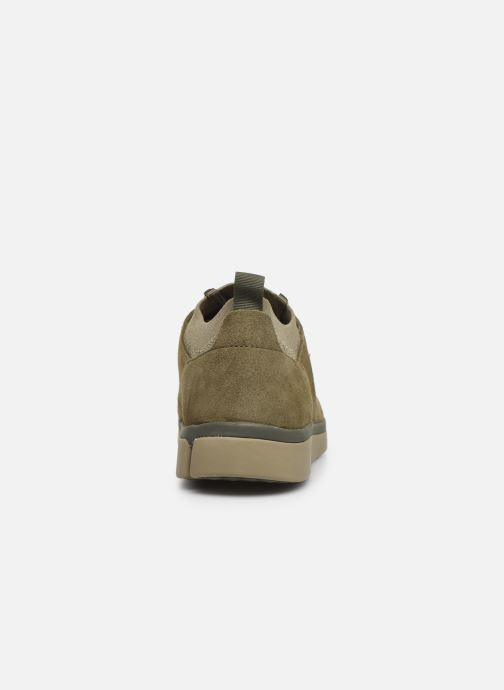 Trainers Clarks Tri Verve Green view from the right
