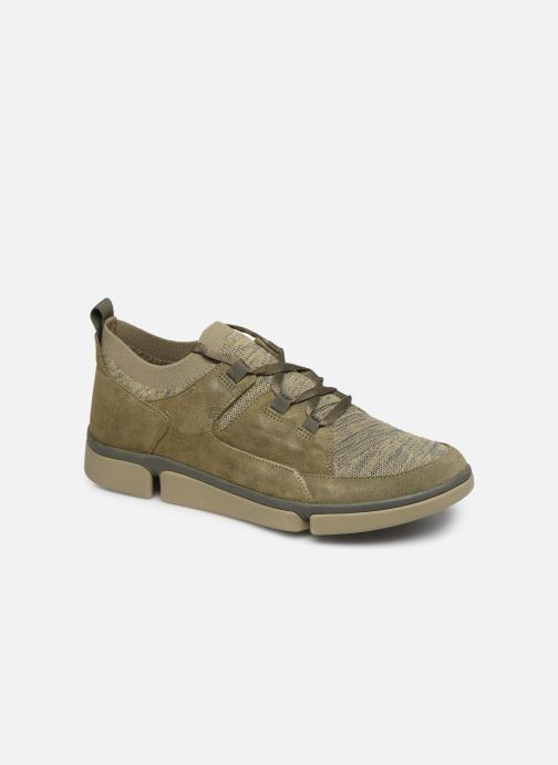 Trainers Clarks Tri Verve Green detailed view/ Pair view