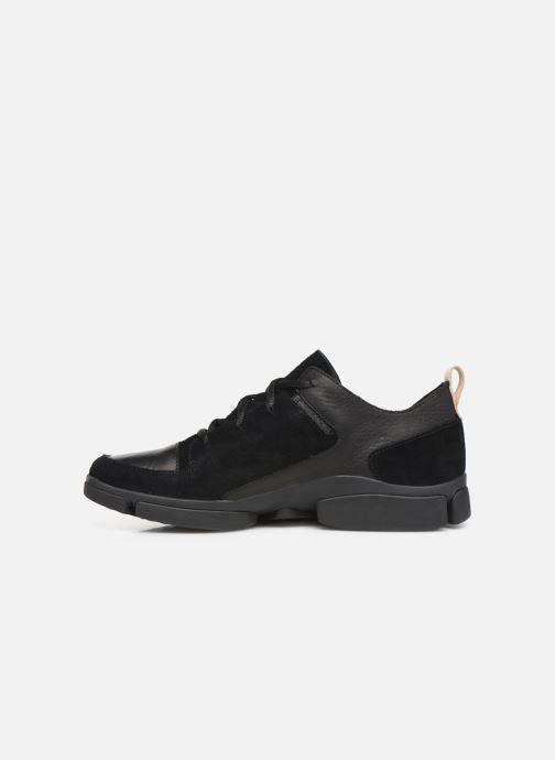 Sneakers Clarks Tri Verve Zwart voorkant