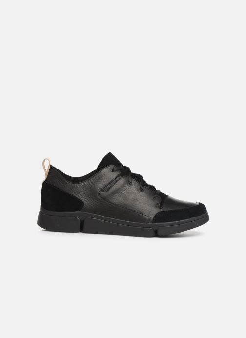 Sneakers Clarks Tri Verve Zwart achterkant
