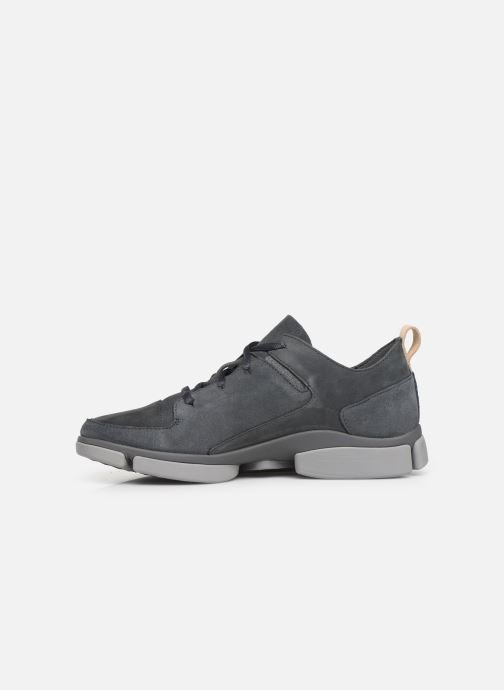Trainers Clarks Tri Verve Grey front view