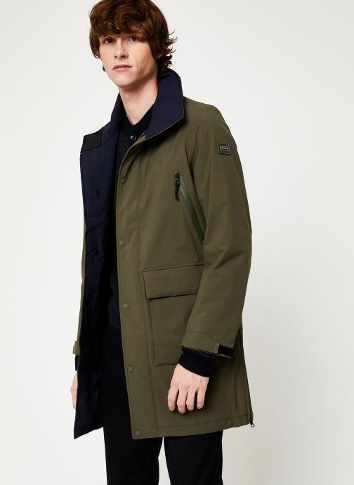 Vêtements Aigle Anditu Vert vue détail/paire