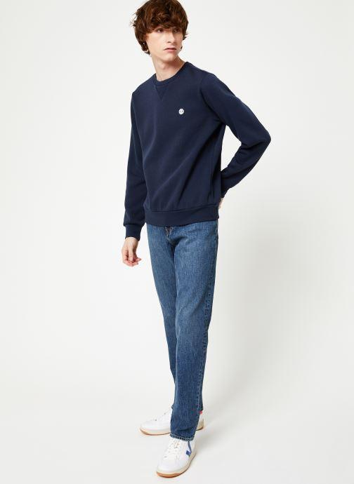 Vêtements Element Cornell Classic cr C Bleu vue bas / vue portée sac