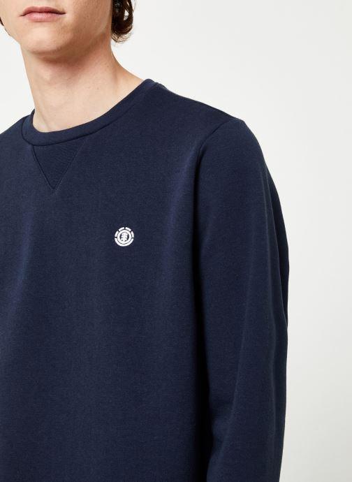 Vêtements Element Cornell Classic cr C Bleu vue face