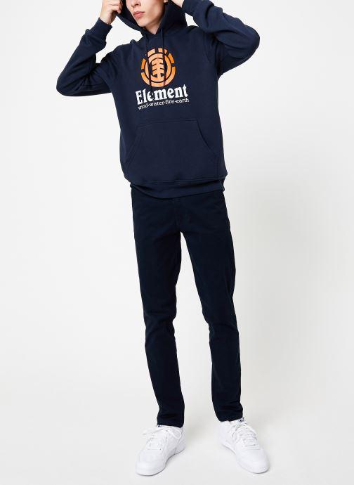 Vêtements Element Vertical ho C Bleu vue bas / vue portée sac