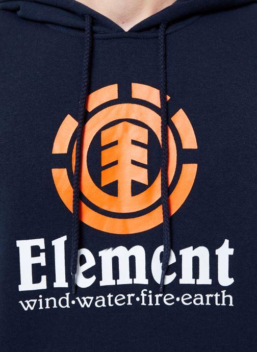 Vêtements Element Vertical ho C Bleu vue face