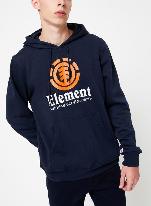 Vêtements Element Vertical ho C Bleu vue détail/paire