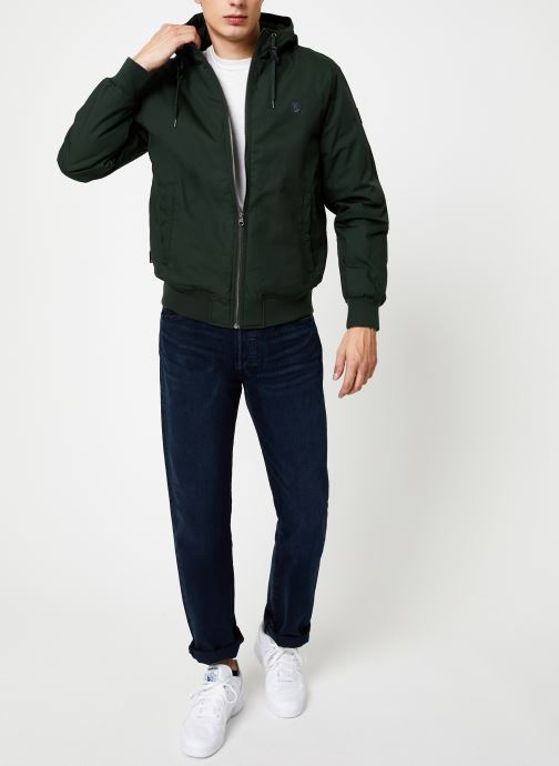 Vêtements Element Dulcey C Vert vue bas / vue portée sac