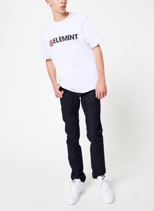Vêtements Element E03 C Bleu vue bas / vue portée sac