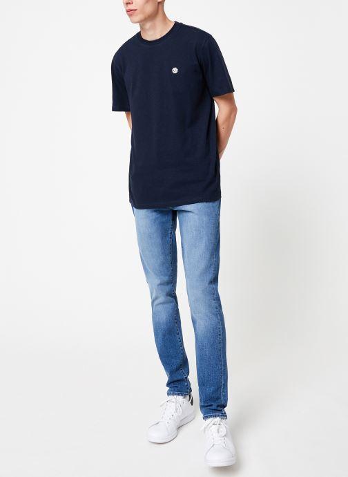 Vêtements Element Crail C Bleu vue bas / vue portée sac