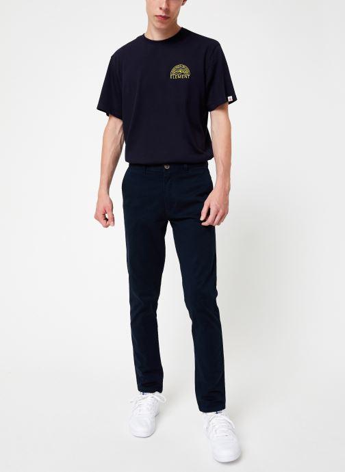 Vêtements Element Howland Classic Chino C Bleu vue bas / vue portée sac