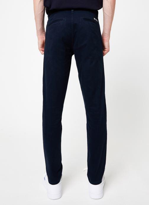 Vêtements Element Howland Classic Chino C Bleu vue portées chaussures