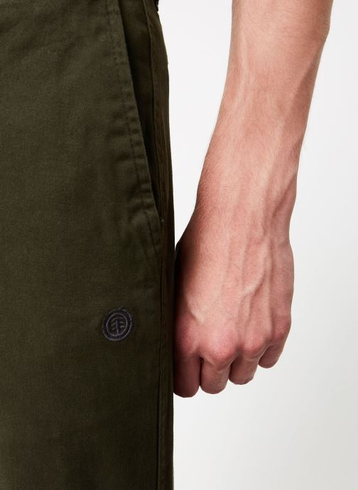 Vêtements Element Howland Classic Chino C Vert vue face