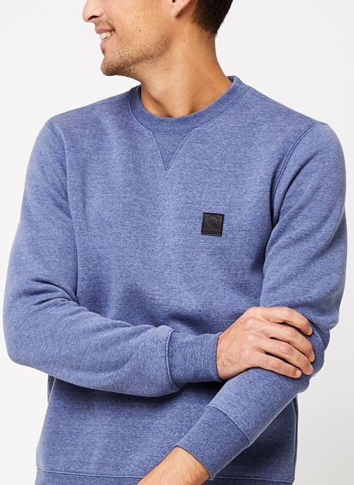 Vêtements Element Heavy cr C Bleu vue face
