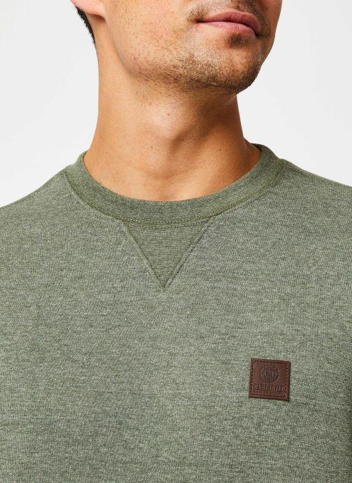 Vêtements Element Heavy cr C Vert vue face