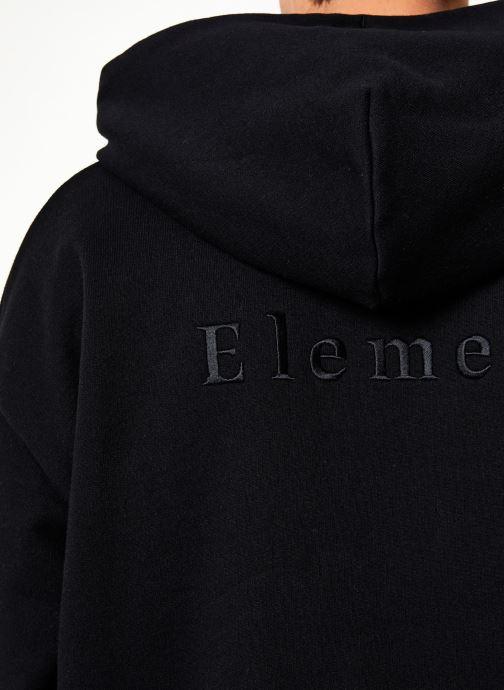 Vêtements Element Sd Heavy Fleece C Noir vue face