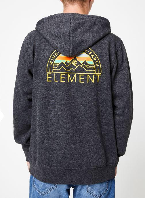 Vêtements Element Odyssey ho C Gris vue portées chaussures