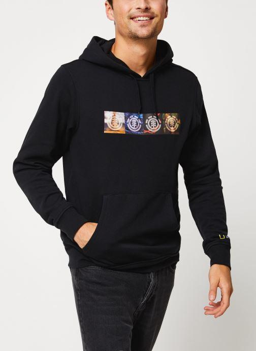Vêtements Element Horizontal Seasons Hood C Noir vue détail/paire