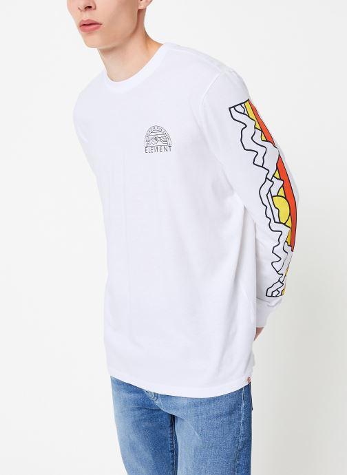 Vêtements Element Odyssey ls C Blanc vue détail/paire