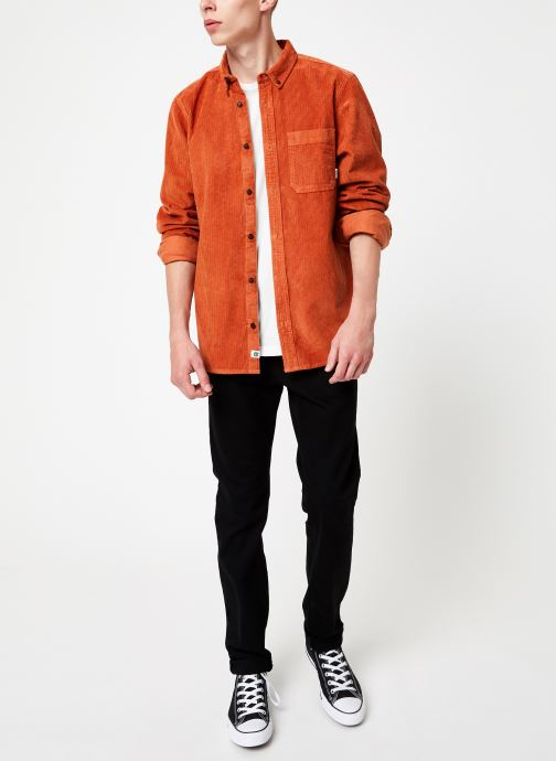 Vêtements Element Lumber Cord ls C Orange vue bas / vue portée sac