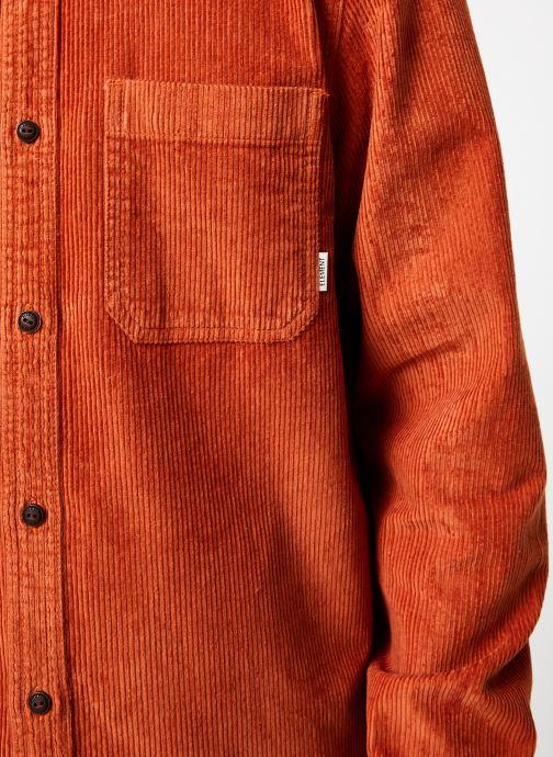Vêtements Element Lumber Cord ls C Orange vue face