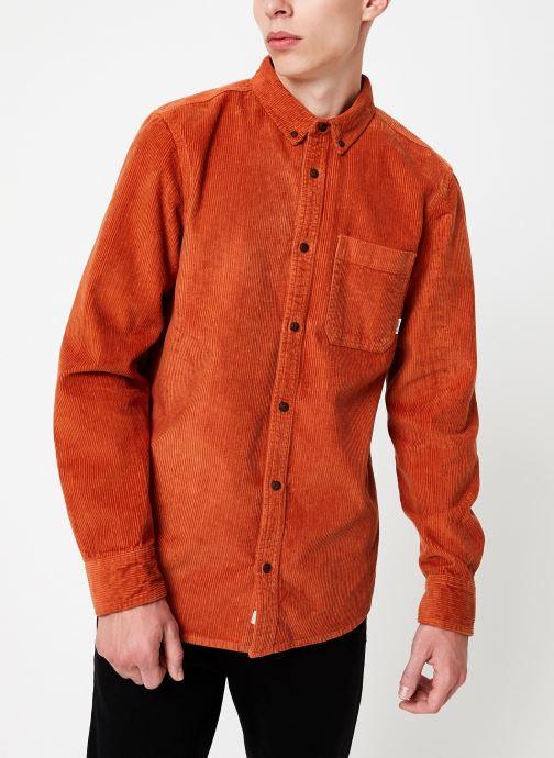 Vêtements Element Lumber Cord ls C Orange vue droite