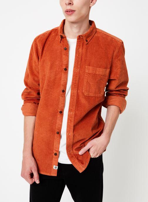 Vêtements Element Lumber Cord ls C Orange vue détail/paire