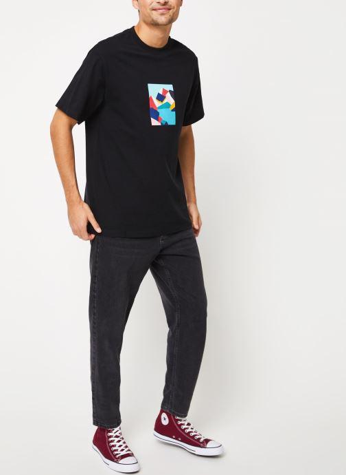 Vêtements Element Sd ss Tee 1 C Noir vue bas / vue portée sac