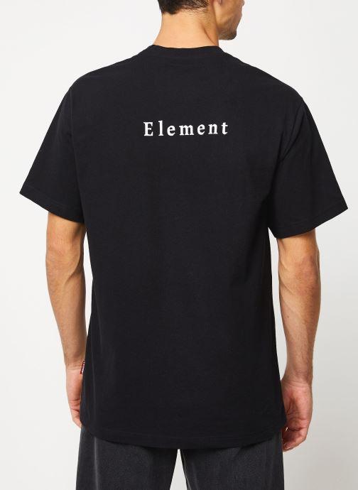 Vêtements Element Sd ss Tee 1 C Noir vue portées chaussures