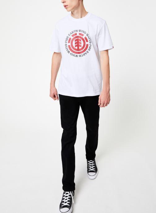 Vêtements Element Seal ss C Blanc vue bas / vue portée sac