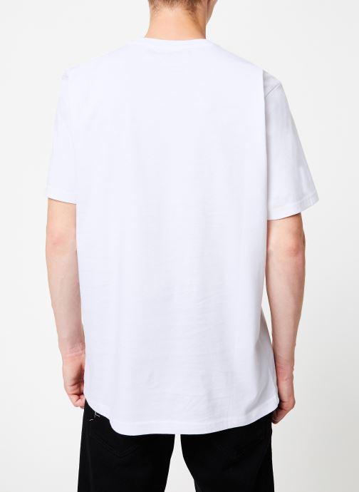 Vêtements Element Seal ss C Blanc vue portées chaussures