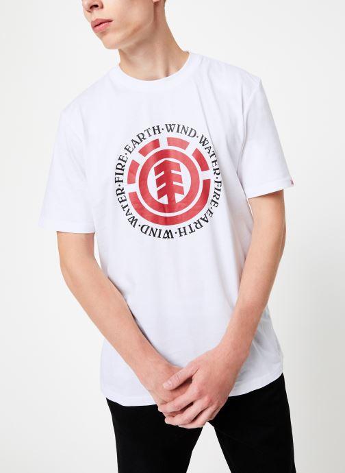 Vêtements Element Seal ss C Blanc vue détail/paire