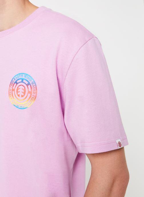 Tøj Element Seal gradient ss C Pink se forfra