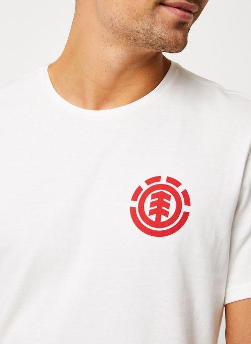 Vêtements Element Unison ss C Blanc vue face